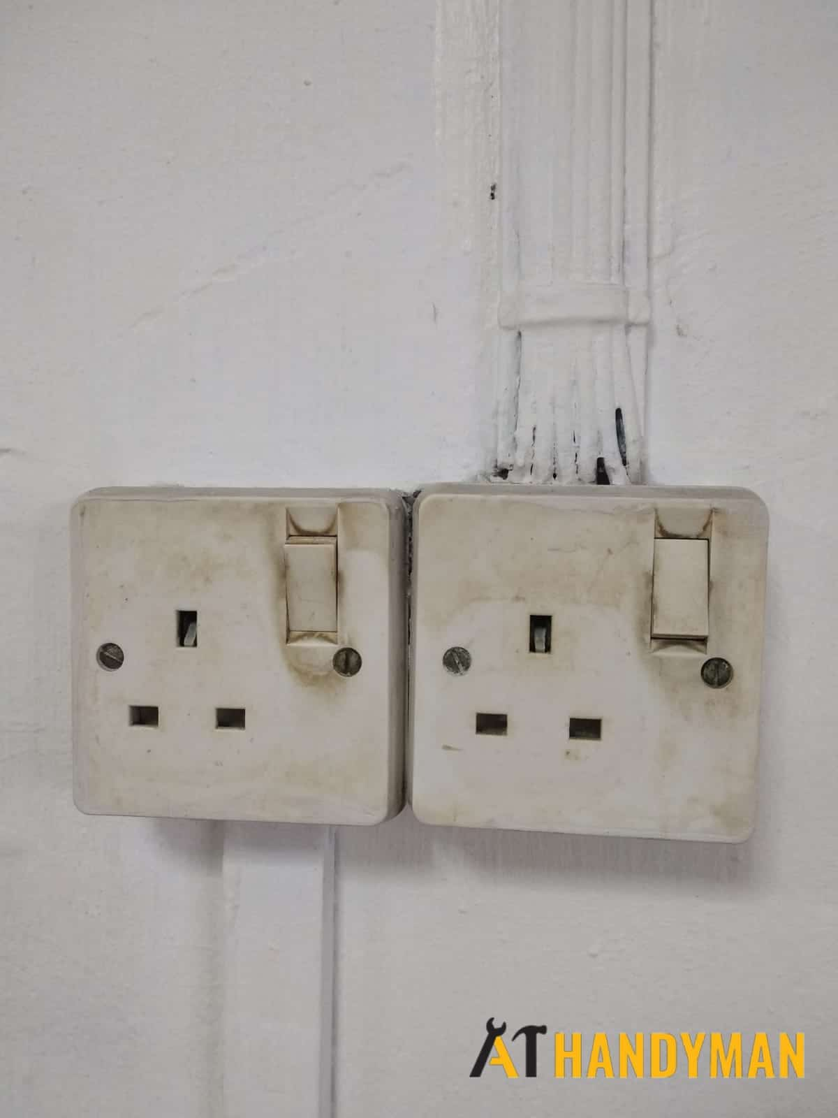 Electrical Socket Replacement Handyman Singapore Hdb Ang