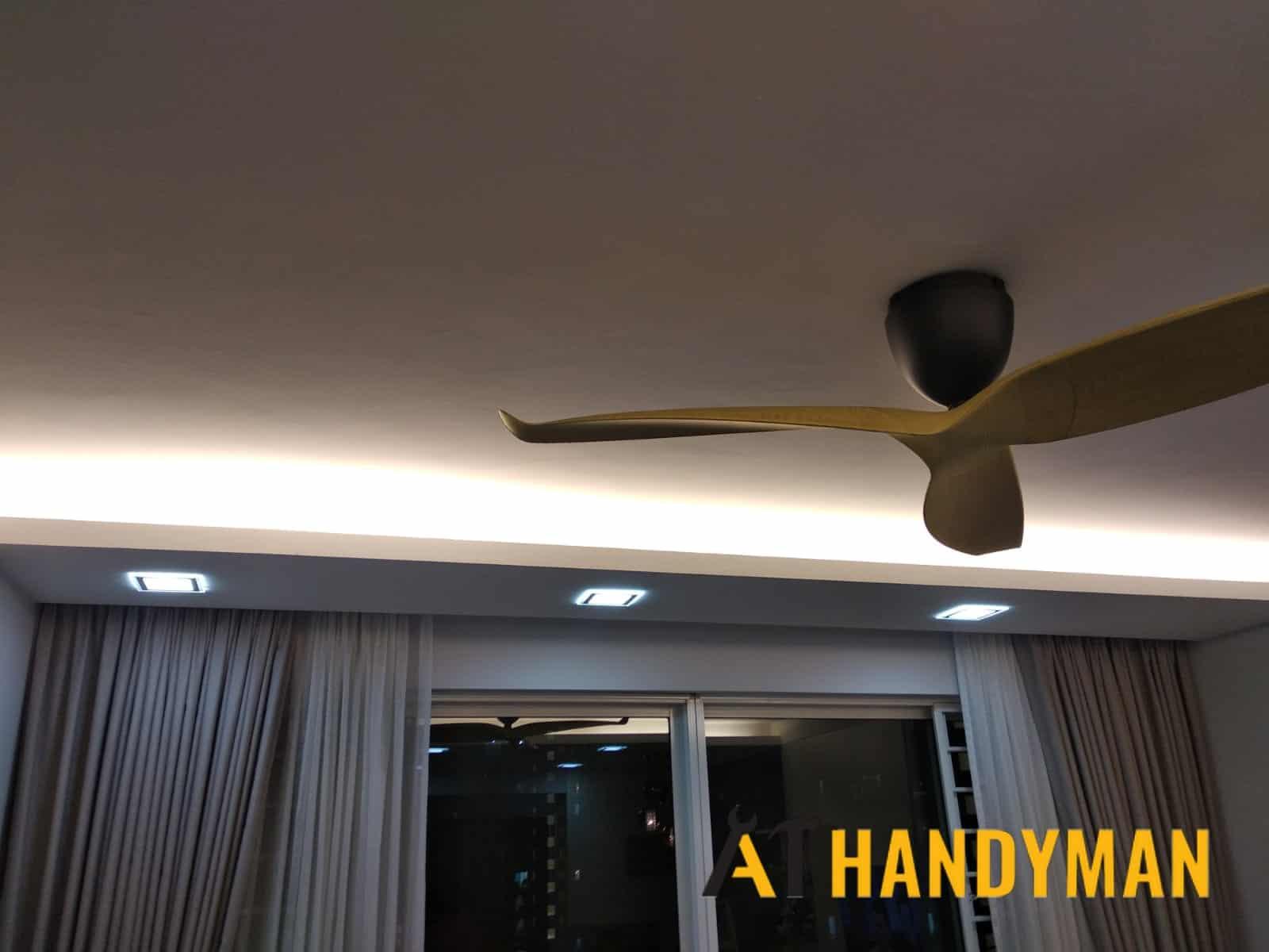 light-installation-electrician-singapore-a1-handyman-singapore-condo-pasir-ris-1_wm