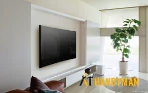 tv bracket installation services a1 handyman singapore