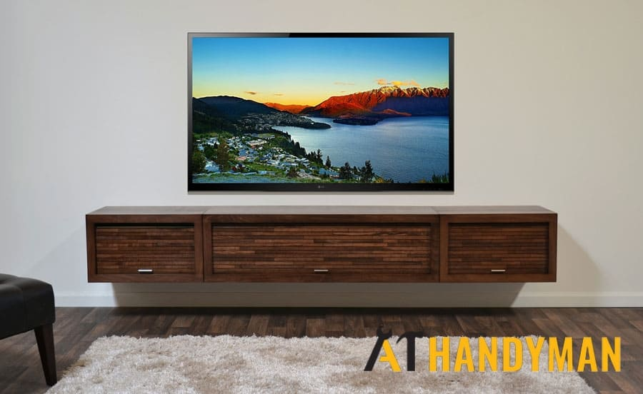 tv bracket installation services a1 handyman singapore
