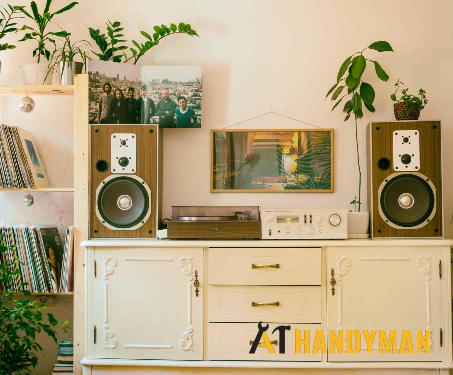 speaker-mount-wall-mount-installation-service-a1-handyman-singapore