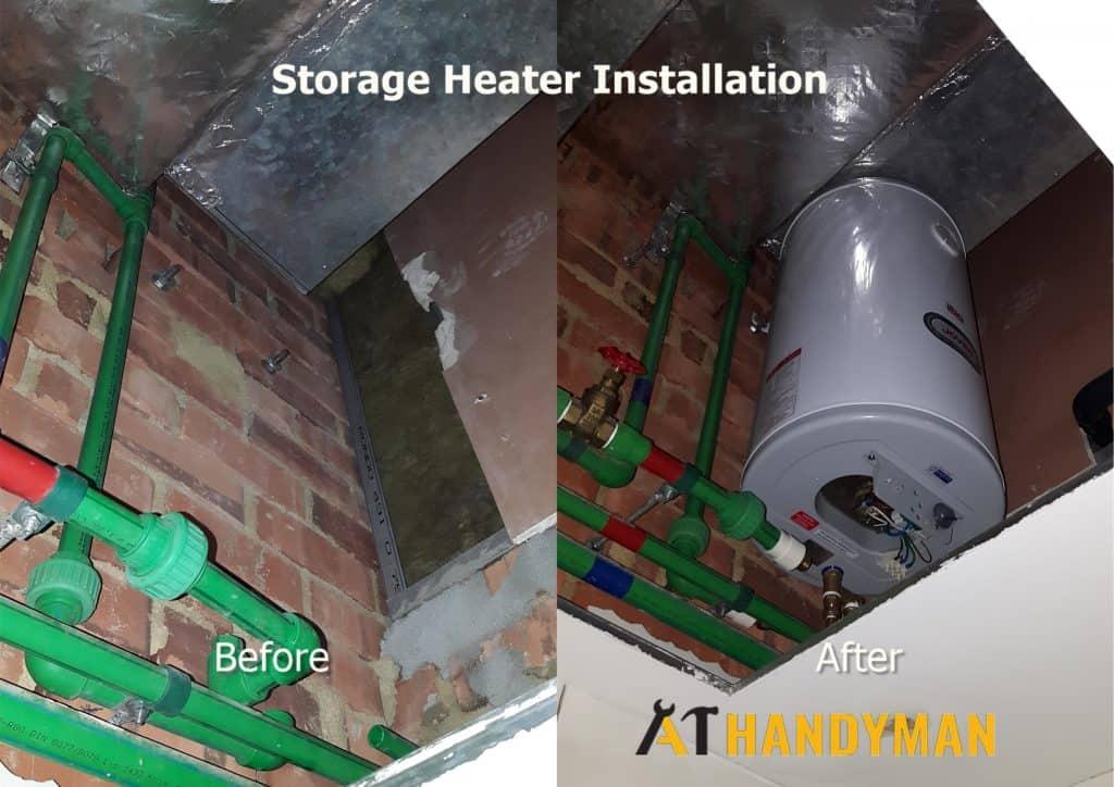 Storage-Heater-Installation-Plumber-handyman-Singapore