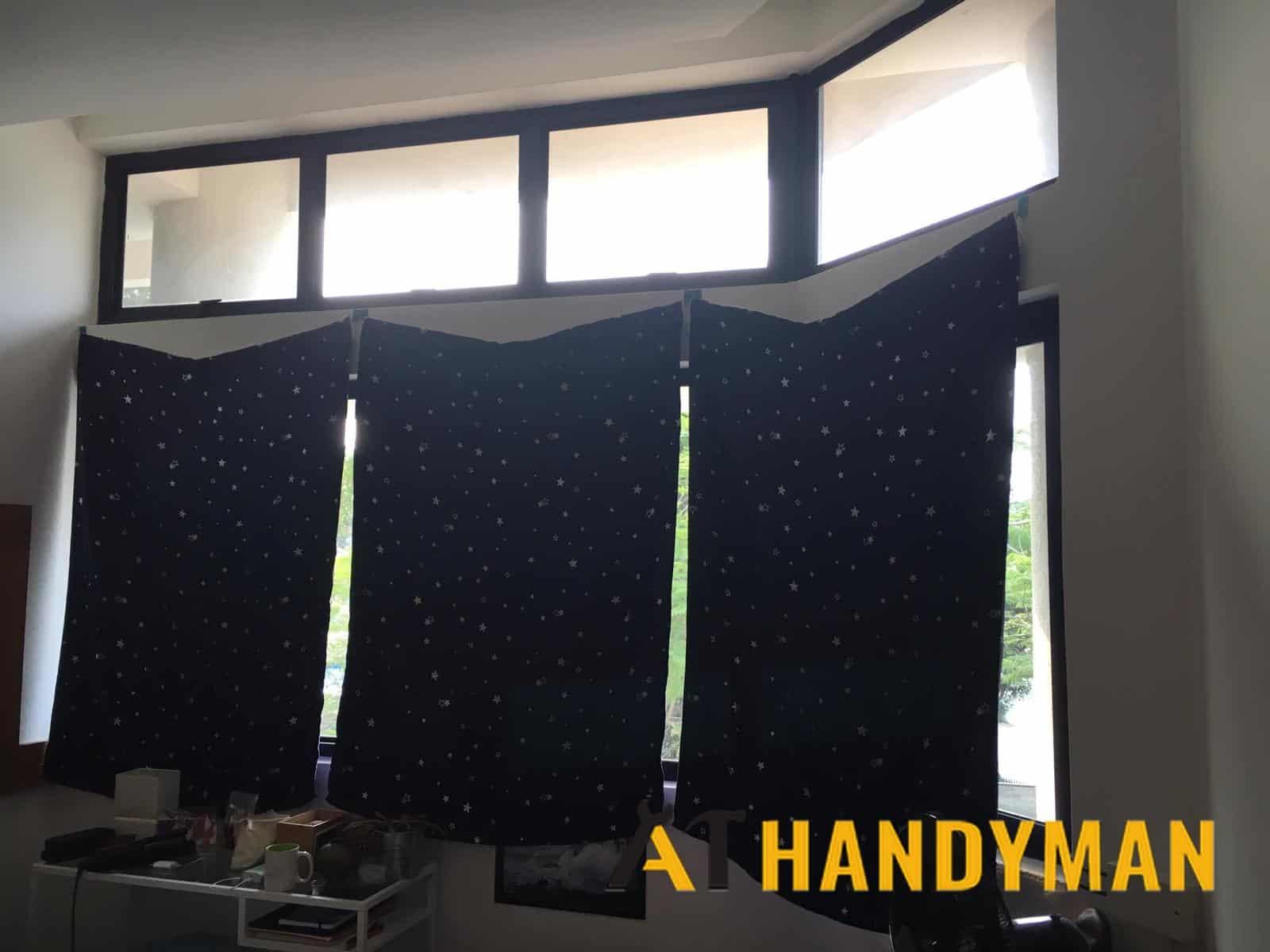install-curtain-rod-drilling-services-a1-handyman-singapore-condo-lorong-sarhad-2