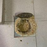 kitchen-floor-trap-choke-plumber-handyman-singapore-hdb-simei-4