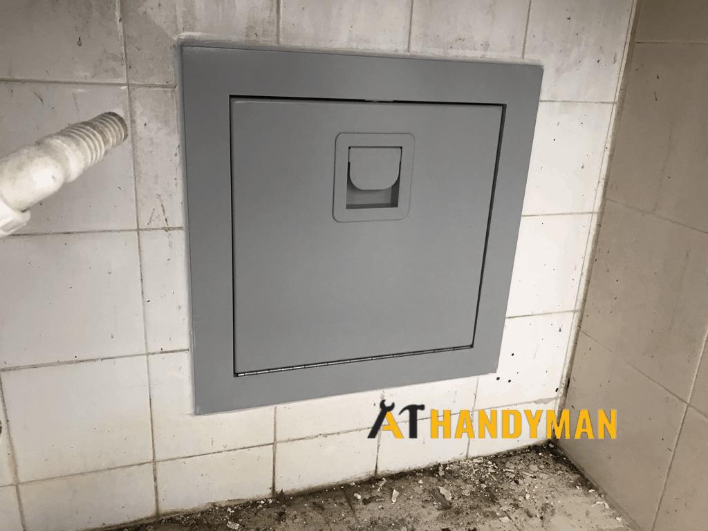 rubbish-chute-repair-a1-handyman-singapore