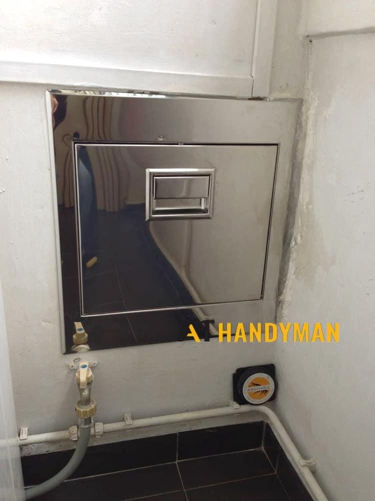 stainless-steel-hdb-rubbish-chute-a1-handyman-singapore
